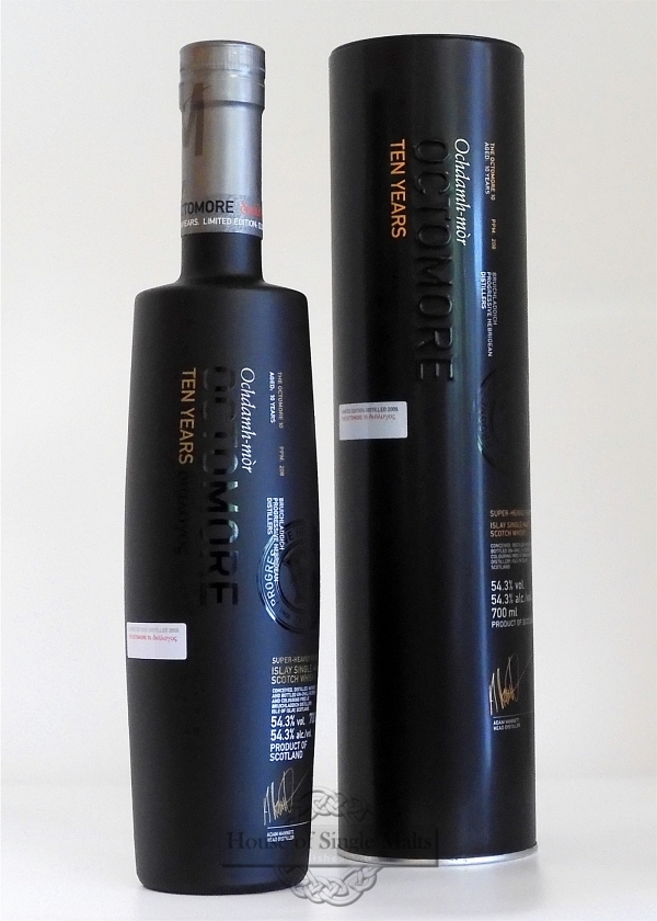 Octomore 10 Years - 4th Edition - 2020 (Degu-Muster)