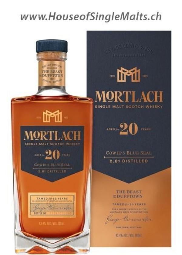 Mortlach 20 Years - Cowie's Blue Seal (Degu-Muster)