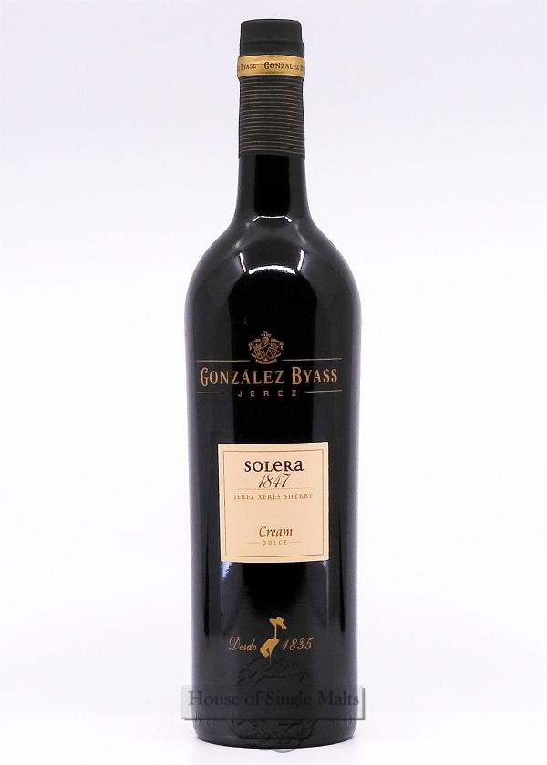 Gonzalez Byass Solera 1847 Sherry Cream
