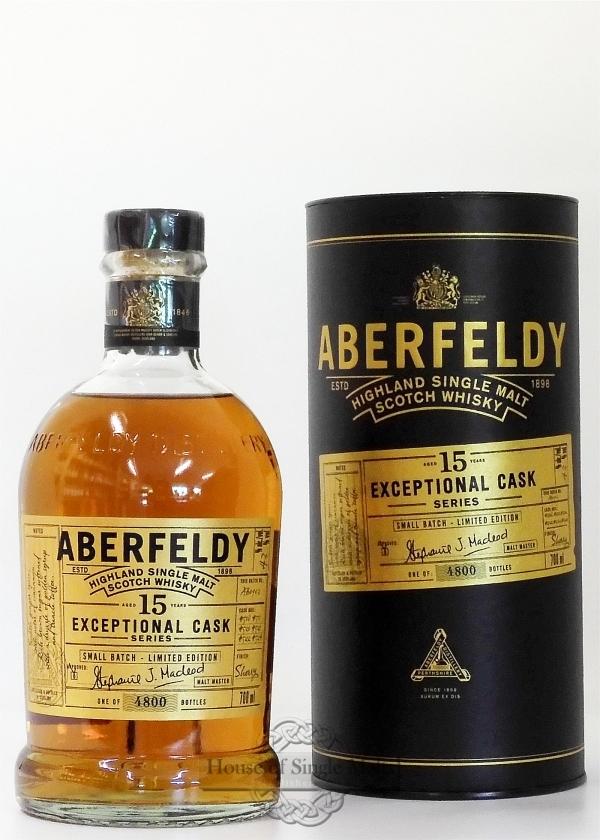 Aberfeldy 15 Years - Exeptional Cask