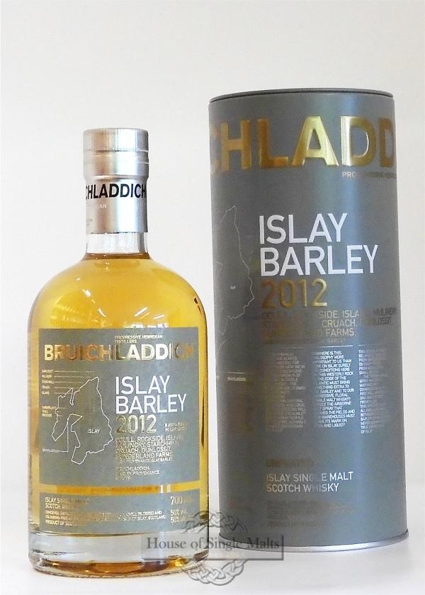 Bruichladdich 2012 - Islay Barley