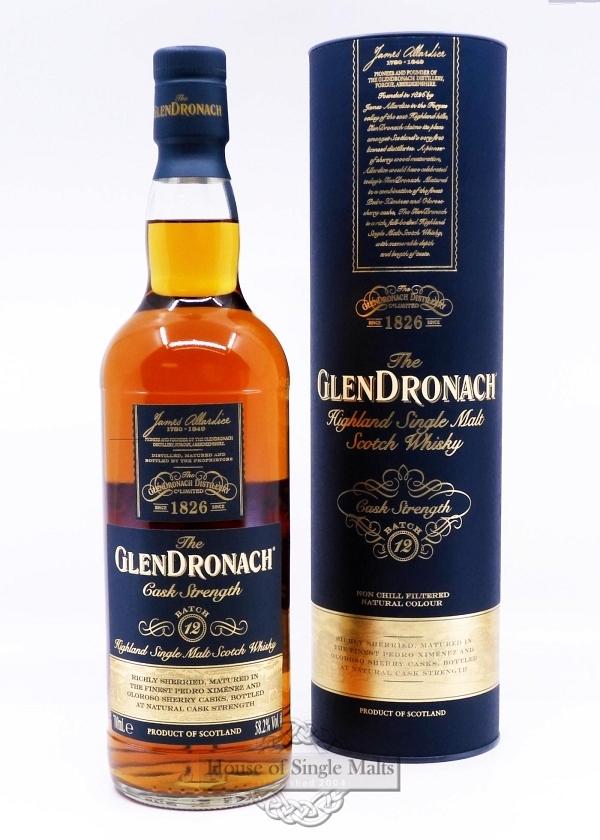 GlenDronach Cask Strength - Batch 9