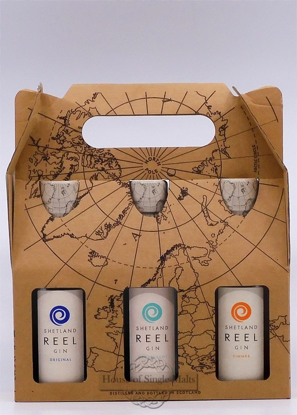 Shetland Reel Gin - Geschenkpackung