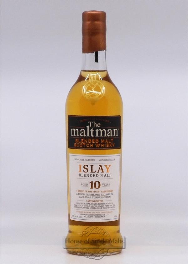 Islay Blended Malt 10 Years - The Maltman