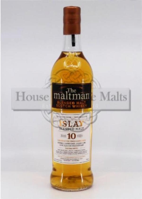 Islay Blended Malt 10 Years - The Maltman - Degu-Muster