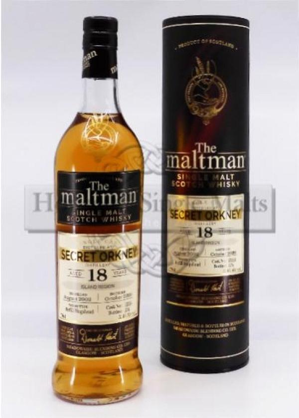 Secret Orkney 18 Years - The Maltman - Degu-Muster