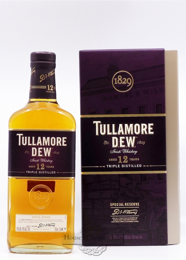 Tullamore Dew 12 Years - Special Reserve