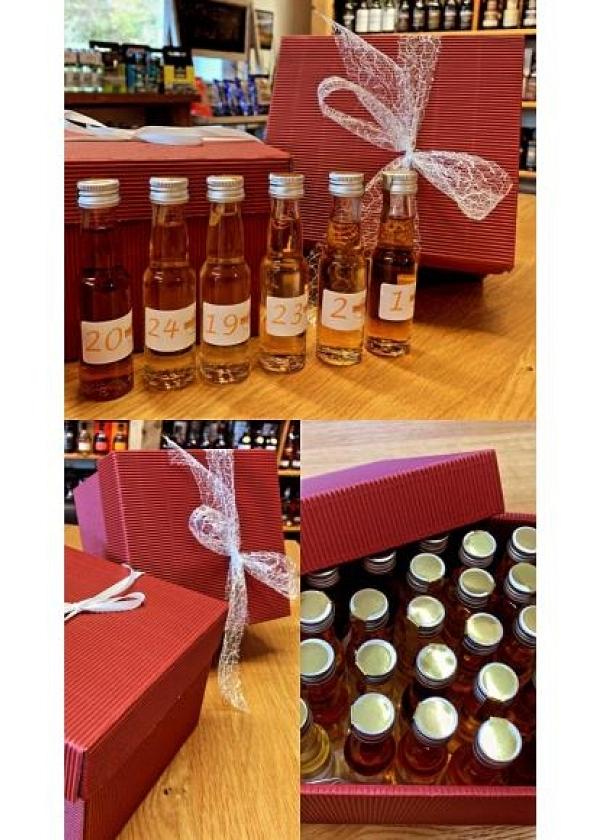 Whisky- oder Rum-Adventskalender 2017