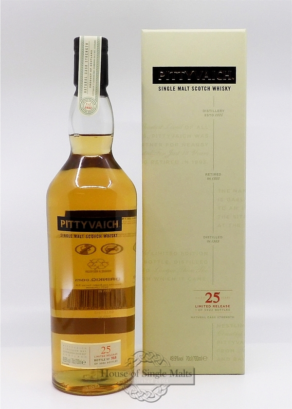 Pittyvaich 25 Years (1989)