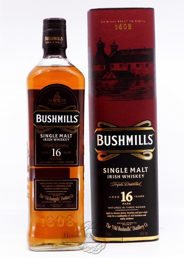 Bushmills 16 Years Three Wood