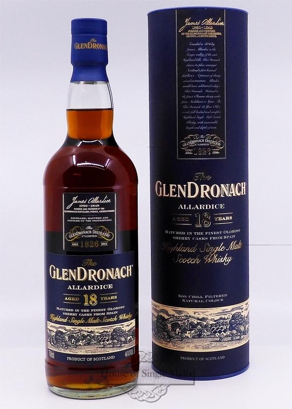 GlenDronach 18 Years Allardice