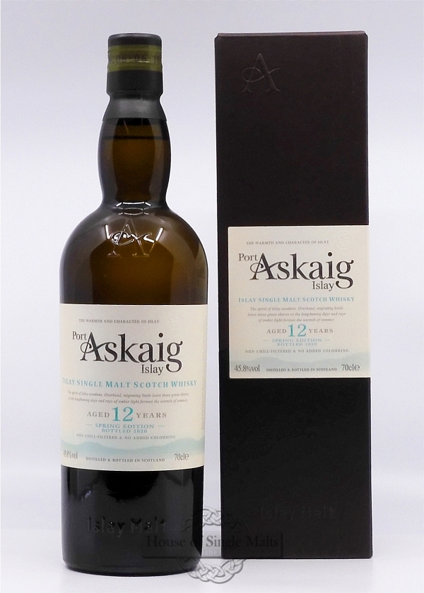 Port Askaig 12 Years - Spring Edition 2020