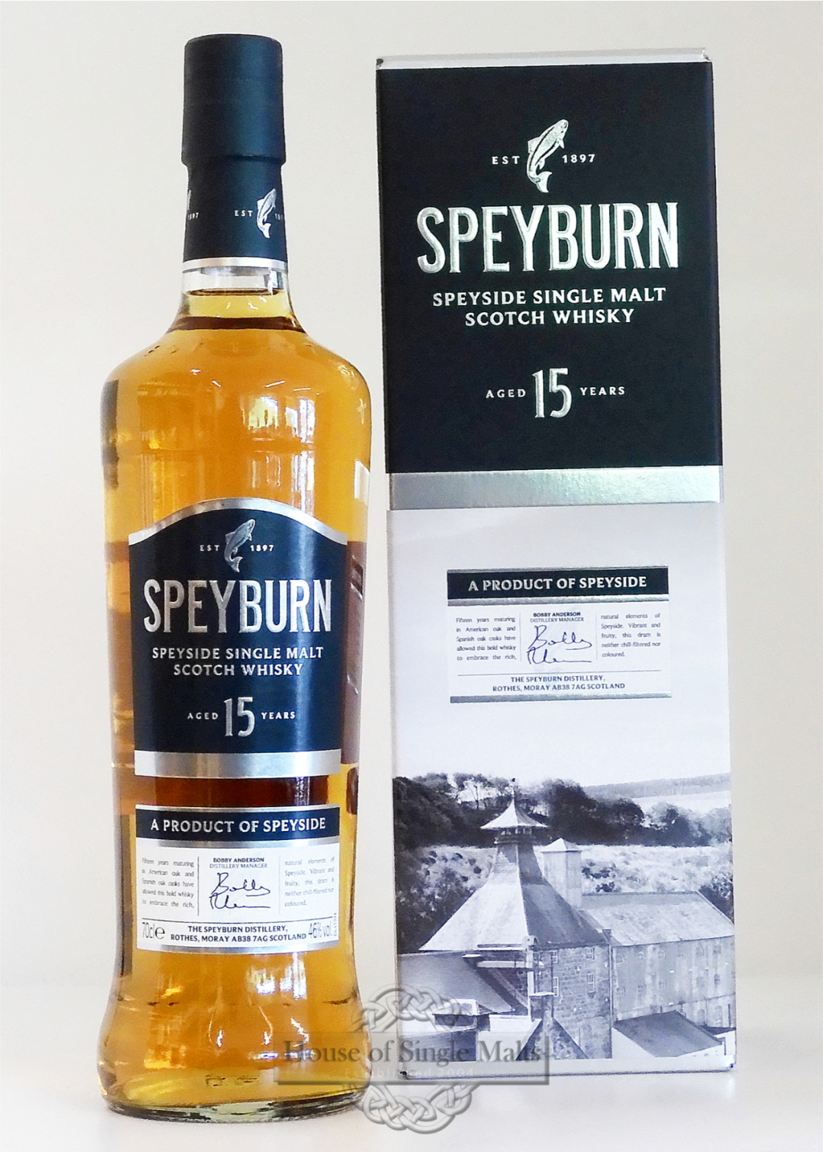 Speyburn 15 Year Old: House Of Single Malts
