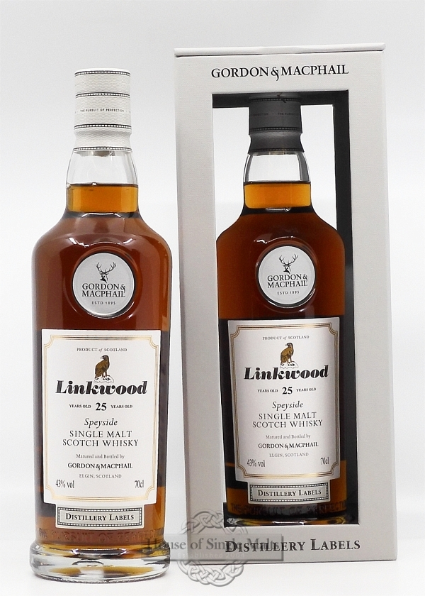 Linkwood 25 Years - Gordon & MacPhail