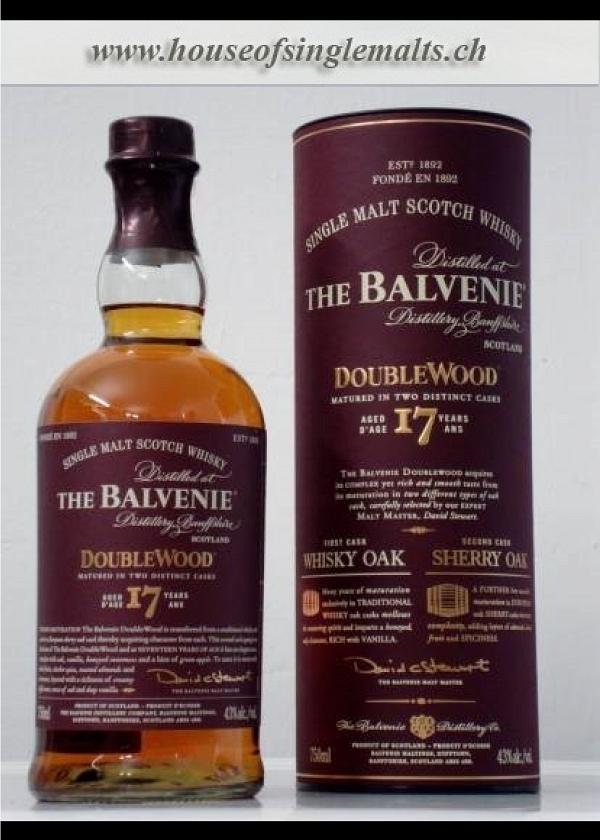 Balvenie 17 Years Double Wood