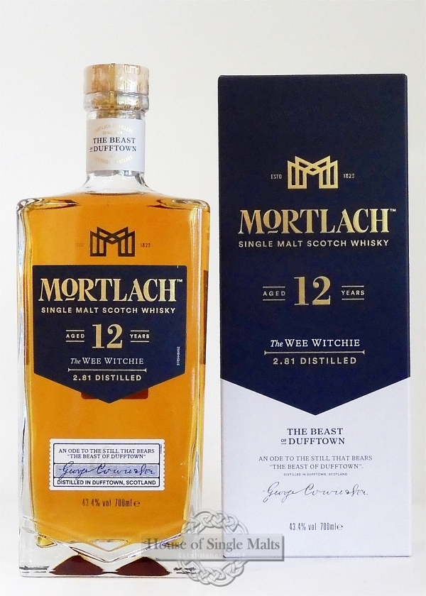 Mortlach 12 Years - The Wee Witchie