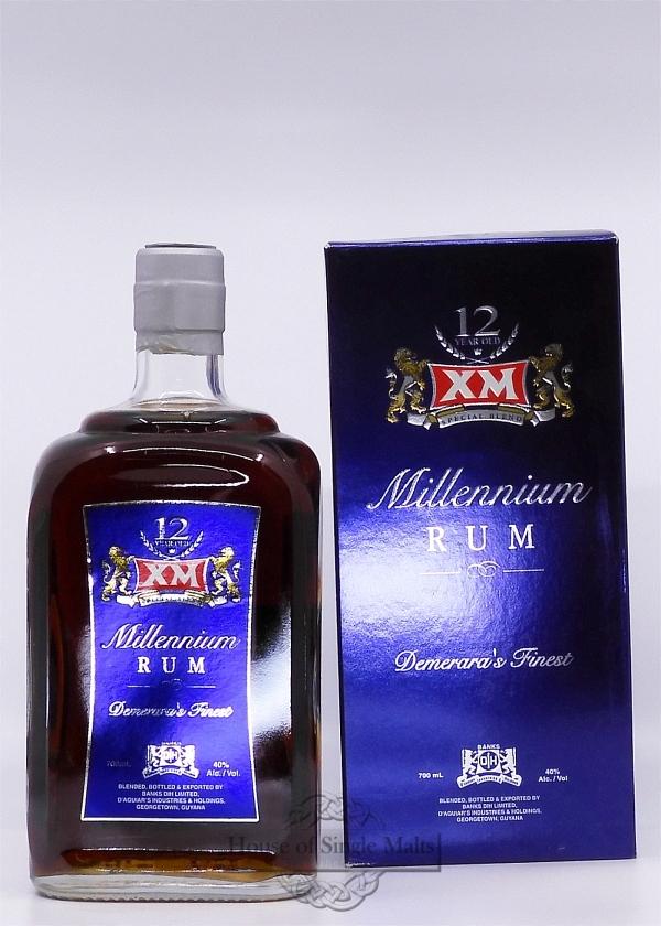 XM Millenium 12 Years (Guyana)