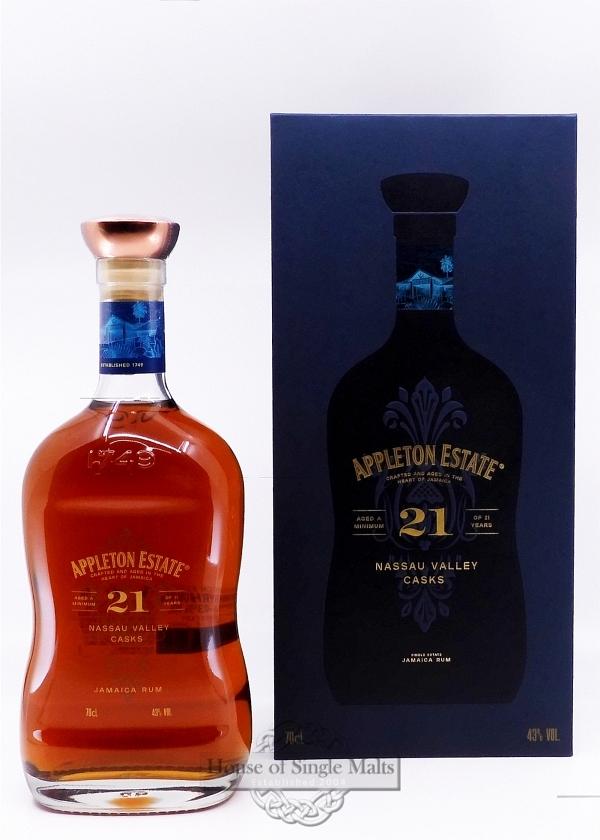Appleton Estate 21 Years (Jamaica)