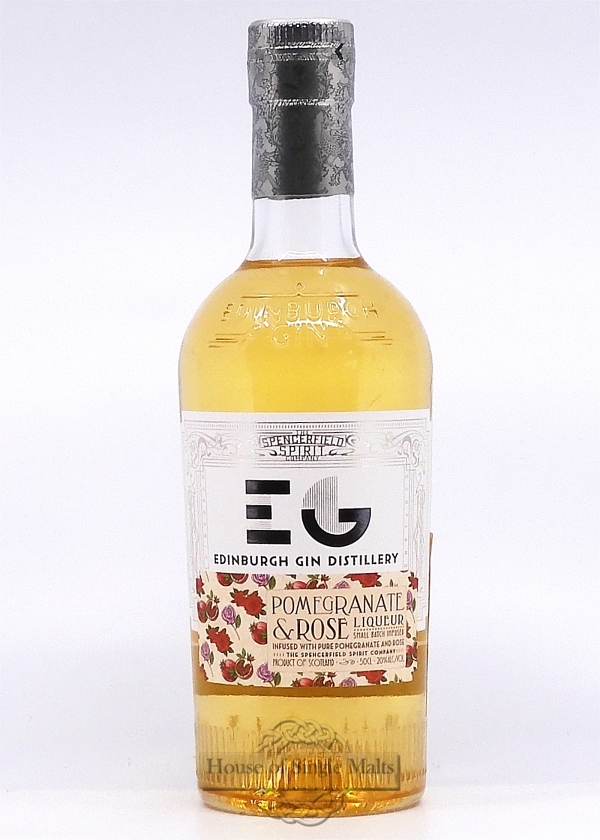 Edinburgh Gin Pomegranate & Rose Liqueur