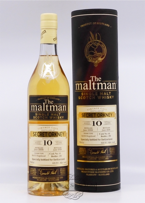 Secret Orkney 10 Years - The Maltman