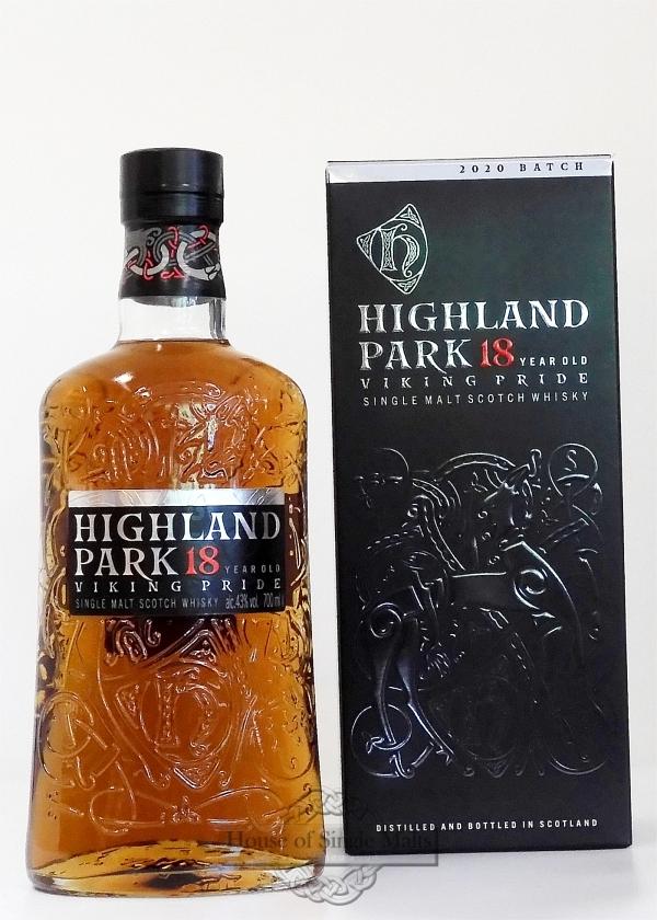 Highland Park 18 Years - neue Flasche