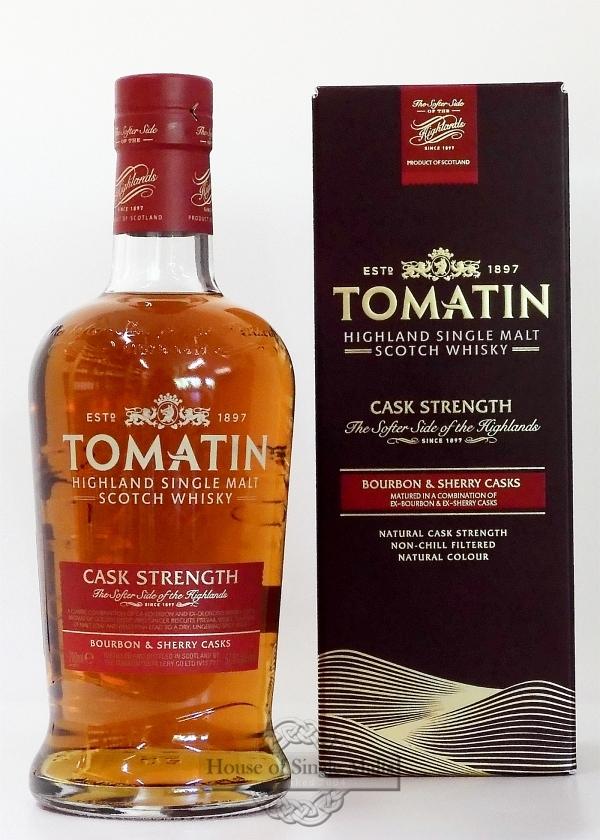 Tomatin Cask Strength - Neue Flaschenform