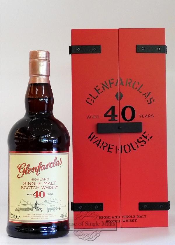 Glenfarclas 40 Years Warehouse