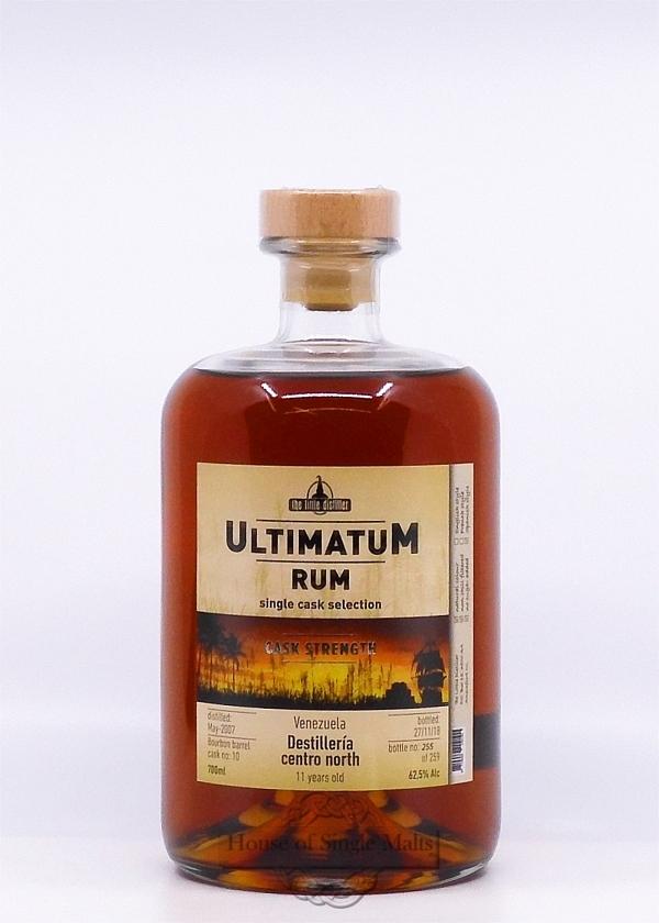 Ultimatum Rum - Centro North 11 Years (Venezuela)