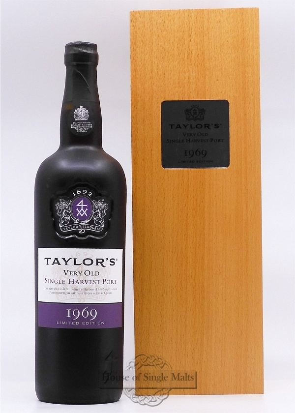 Taylor's 1969 Single Harvest Port