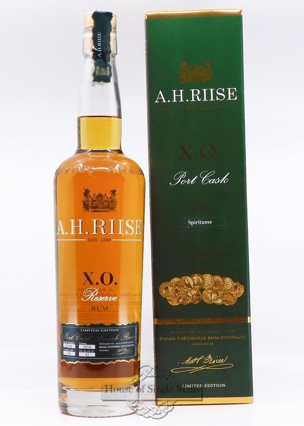 A.H. Riise X.O. Reserve Port Cask (45%)