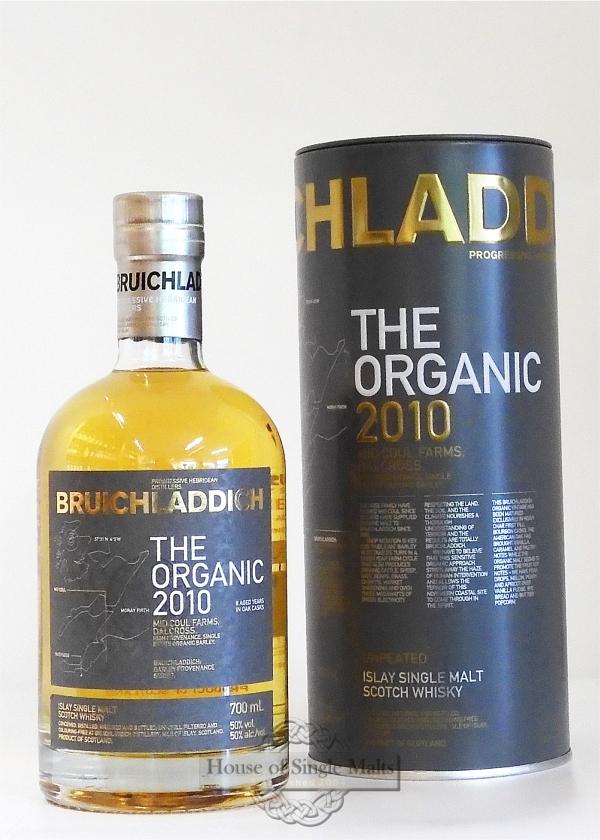 Bruichladdich 2010 - The Organic