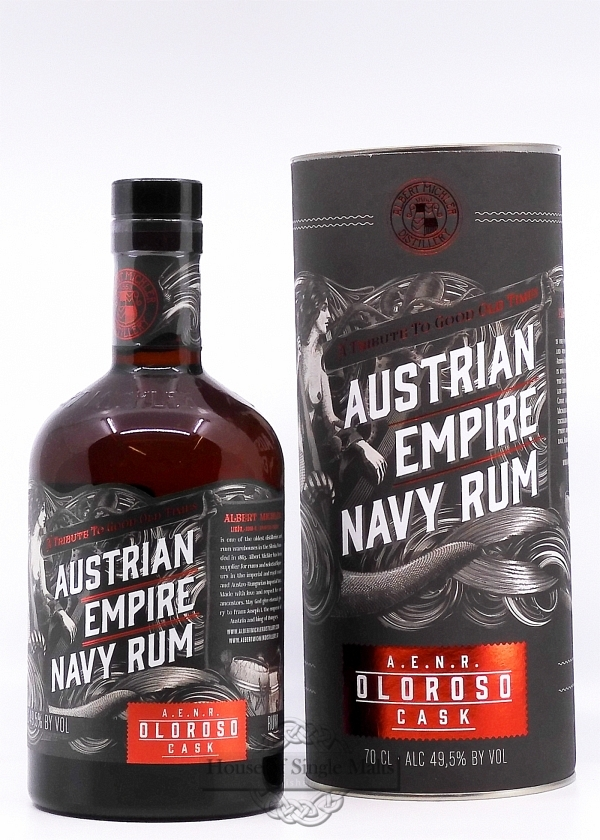 Albert Michler's Austrian Empire Navy Rum - Oloroso Cask