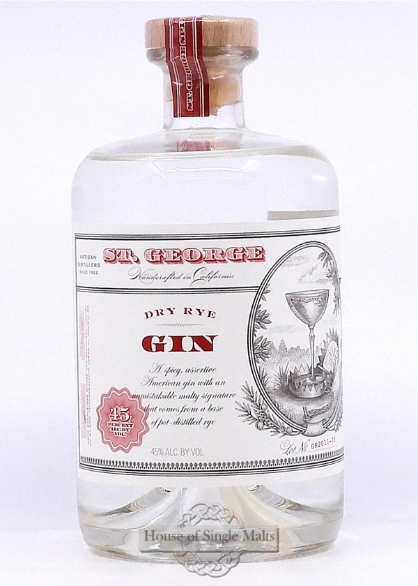 St. George Dry Rye Gin (California USA)