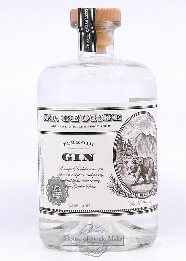 St. George Terroir Gin (California USA)