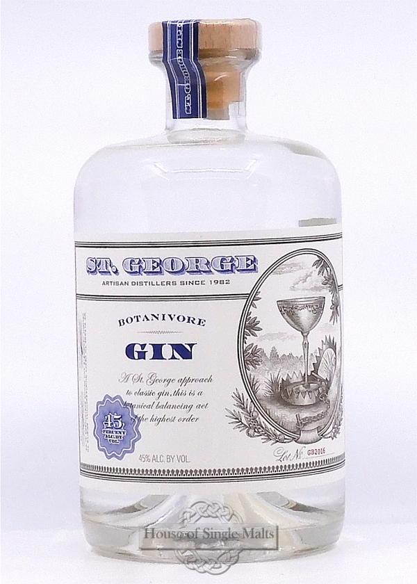 St. George Botanivore Gin (California USA)