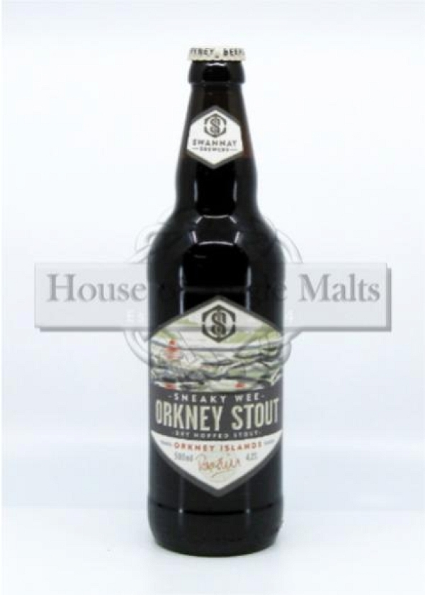 Swannay Brewery - Sneaky Wee Orkney Stout (50 cl)