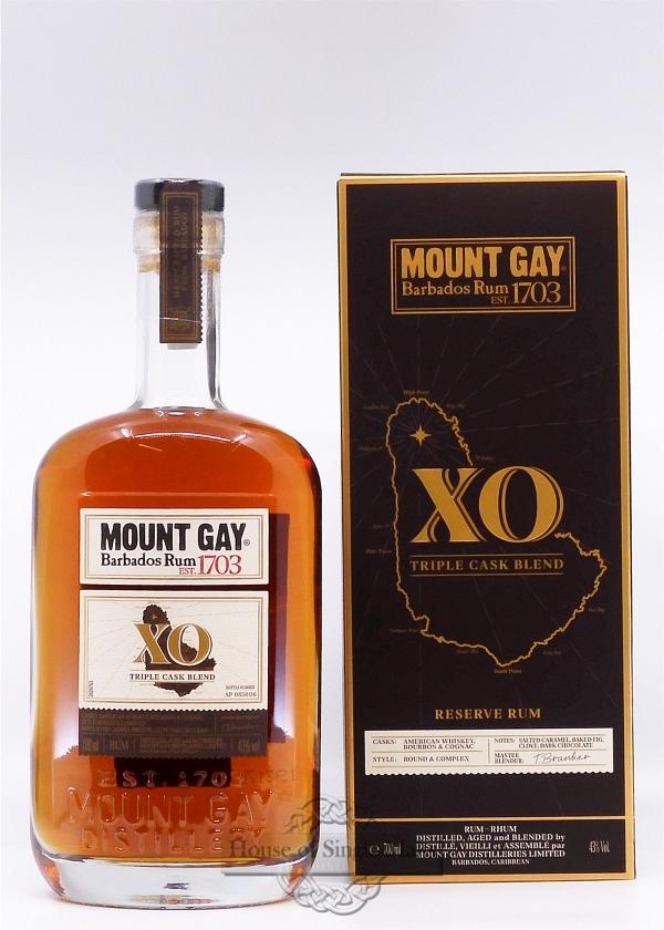 Mount Gay XO - neue Ausführung!