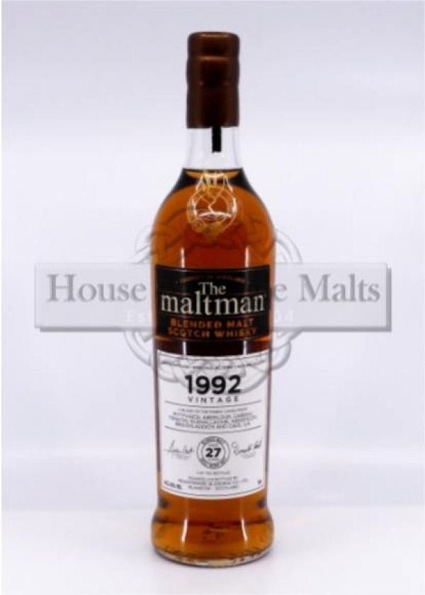 Vintage Blended Malt 1992 - The Maltman (Degu-Muster)