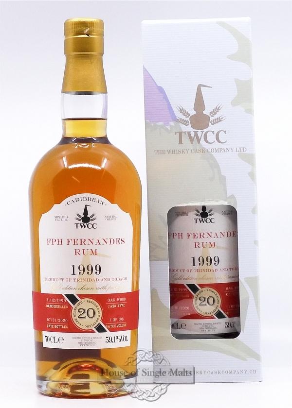 Fernandes Rum 20 Years (1999) TWCC