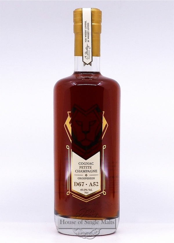Cognac 1967 - Petite Champagne - Edition Dully