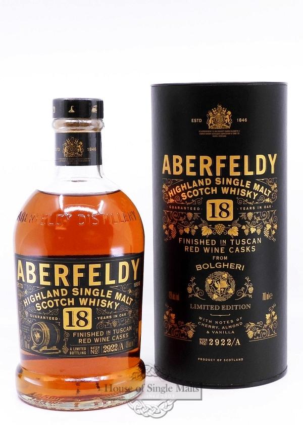 Aberfeldy 18 Years - French Red Wine
