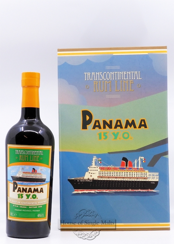 Panama 15 Years - Transcontinental Rum Line