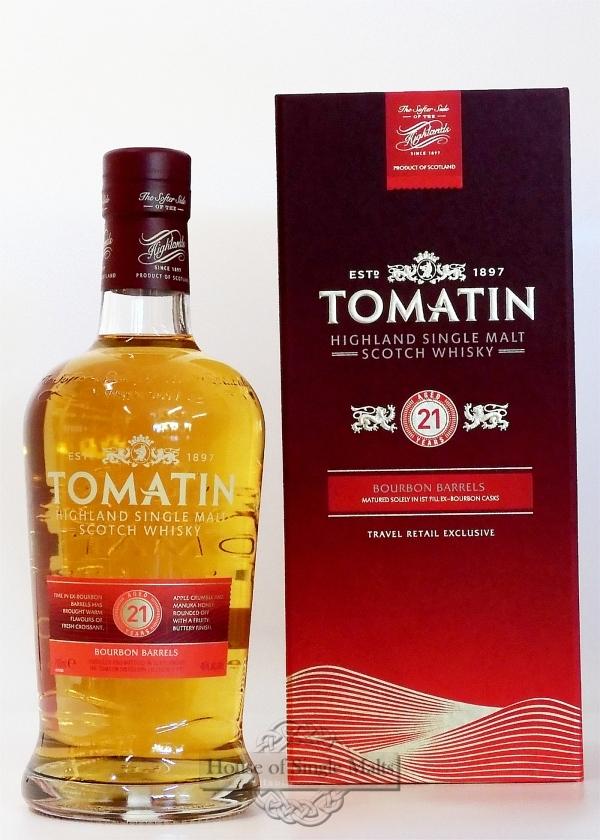 Tomatin 21 Years (Degu-Muster)