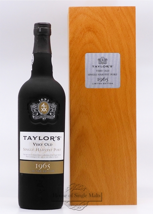 Taylor's 1965 Single Harvest Port