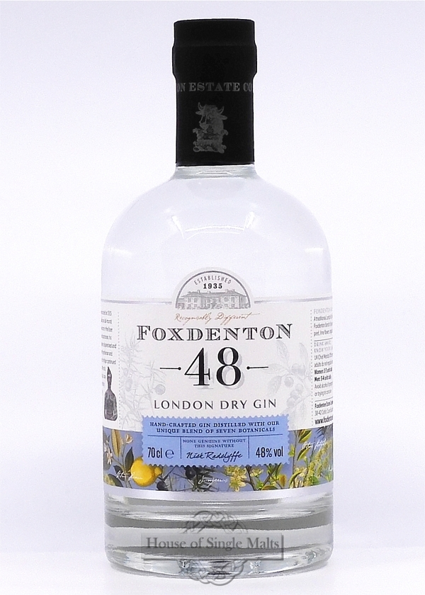 Foxdenton 48 London Dry Gin