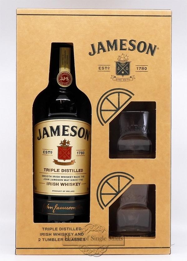 Jameson (Geschenkpackung mit 2 Gläser)