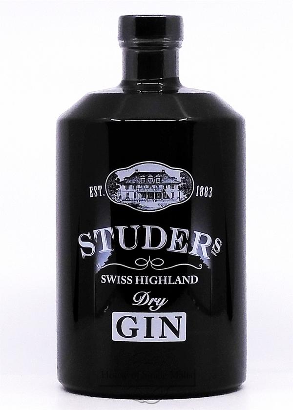 Studer's Swiss Highland Dry Gin