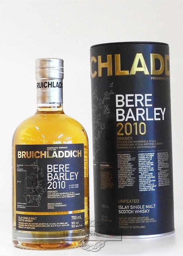 Bruichladdich 2010 - Bere Barley - Degu-Muster