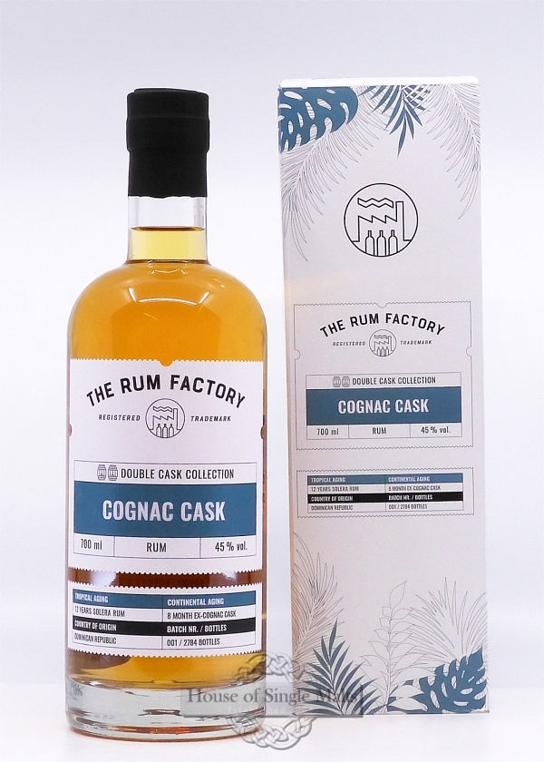 The Rum Factory - Cognac Cask Dominican Republic