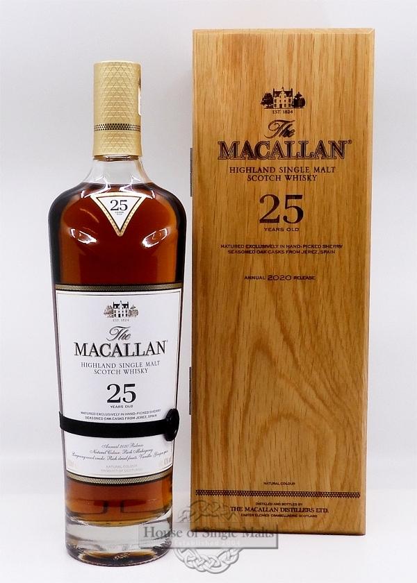 Macallan 25 Years Old Sherry Oak